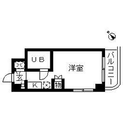 ウインベルソロ南太田第2[0706号室]の間取り