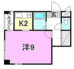 ベーシックアパートメント[403 号室号室]の間取り