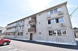 滋賀県草津市矢倉2丁目の賃貸アパートの外観