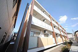 埼玉県吉川市中野の賃貸マンションの外観