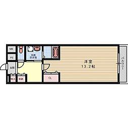 マイルドマンションIII[5階]の間取り