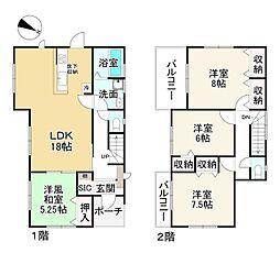 佐味田川駅 2,180万円