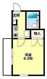 RX豊田(アールエックス)[405号室]の間取り