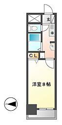 ベル名駅[4階]の間取り