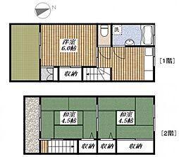 高崎Sハウス[1階]の間取り