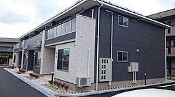長野県松本市両島の賃貸アパートの外観