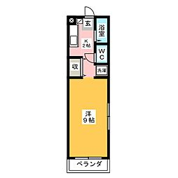 ビューフォート北寺島[1階]の間取り