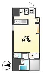 S−FORT六番町[5階]の間取り