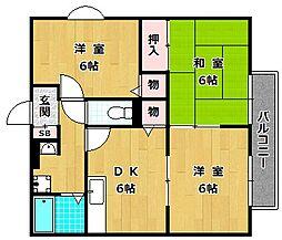 エタニティハウス[2階]の間取り