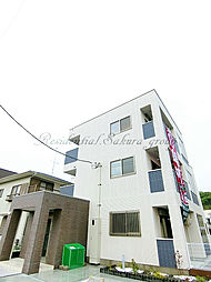 神奈川県藤沢市片瀬の賃貸マンションの外観