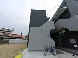 愛知県名古屋市中村区鈍池町2丁目の賃貸アパートの外観