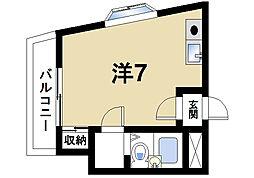 シャトー・ドゥ・クリヨン[4階]の間取り
