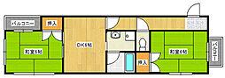 Gハイツ[2階]の間取り
