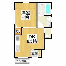 [テラスハウス] 大阪府堺市東区日置荘西町5丁 の賃貸【/】の間取り
