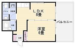 追浜STビル[3A号室]の間取り