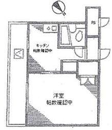 ハイタウン目黒第2[5階]の間取り