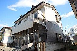 千葉県千葉市花見川区幕張本郷1の賃貸アパートの外観