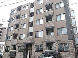 北海道札幌市西区二十四軒三条6丁目の賃貸マンションの外観