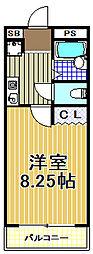 ステージ21[5階]の間取り