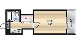 ハイムM&K徳庵[2階]の間取り