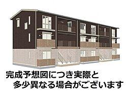 山口県下関市大字伊倉の賃貸アパートの外観