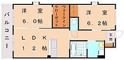 仮)日蒔野マンション[5階]の間取り