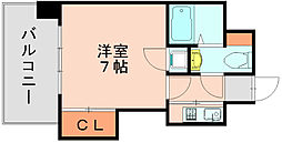 エステートモア博多グラン[7階]の間取り