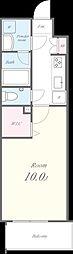 N residence SUMIYOSHI[104号室]の間取り