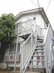 東京都板橋区加賀2丁目の賃貸アパートの外観