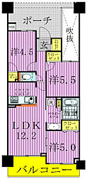 SMILIA TOWN〜スマイリアタウン〜[1105号室]の間取り