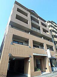 大阪府大阪市東住吉区湯里5の賃貸マンションの外観
