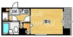 ライオンズマンション東洞院[701号室号室]の間取り