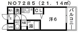 プレサンス玉造駅前[8階]の間取り