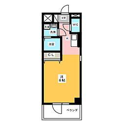 サン・名駅太閤ビル[7階]の間取り