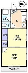 雨木ビル[2階]の間取り