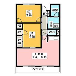 TORICO SQUARE[1階]の間取り