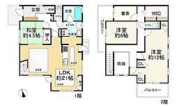 福岡市地下鉄七隈線 金山駅 徒歩10分 3SLDKの間取り