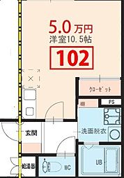 kobushi[1階]の間取り