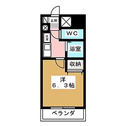 アパートメントハウスアトリウム[10階]の間取り