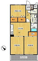 ライオンズマンション東戸塚B棟[-1階]の間取り