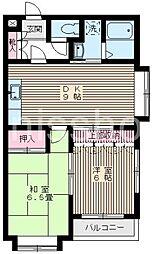 3151-アーバンウッド[1階]の間取り