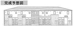 カーサ・ロザリエ[2階]の外観
