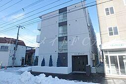 北海道札幌市東区北三十四条東18の賃貸マンションの外観