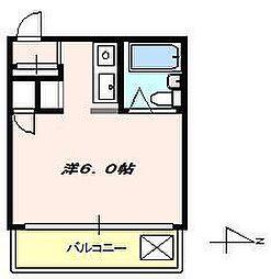 柳田ビル[4階]の間取り