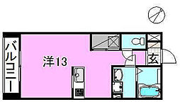サクラガーデン[106 号室号室]の間取り