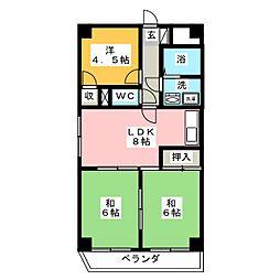 ファクタービル[6階]の間取り