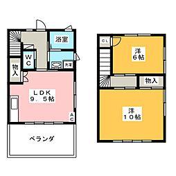 男川駅 6.0万円