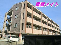 三重県四日市市西富田町の賃貸マンションの外観