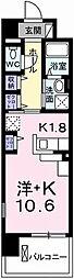 ポーシェガーデン3[9階]の間取り