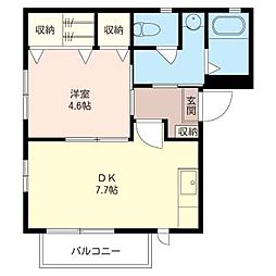 ライカ M[2階]の間取り